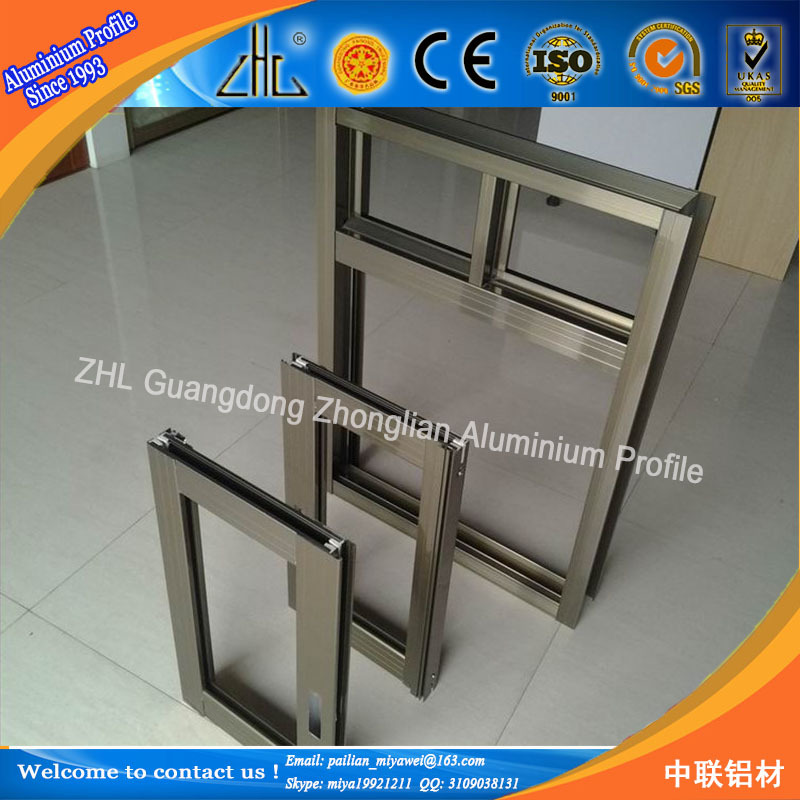 Powder Coated Windows : Zhl factory supply powder coated aluminum screen frame for