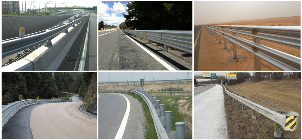 Highway guardrail supplier / highway guardrail hardware / highway guardrail cost per foot