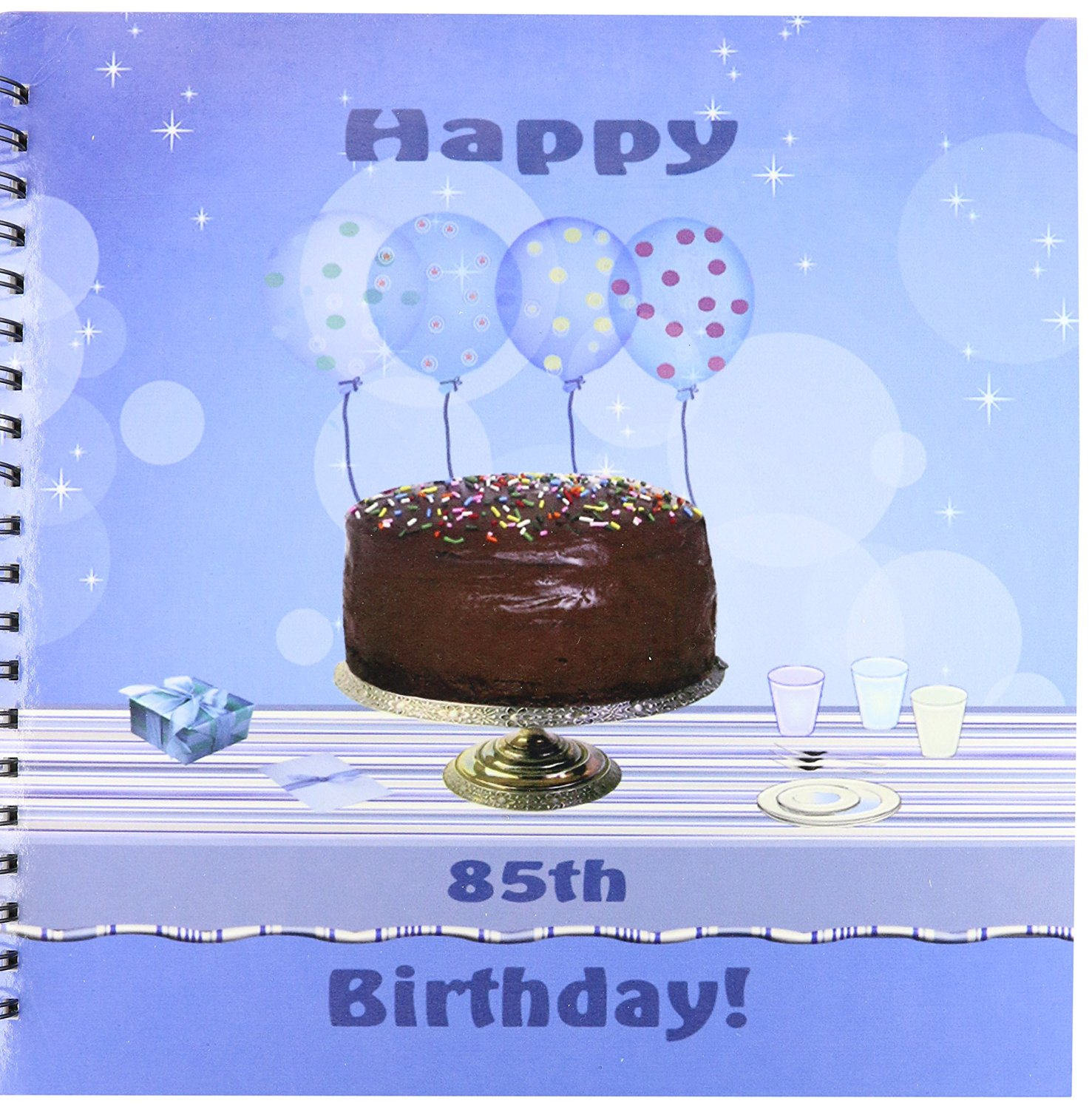 Buy 3drose Db1239712 85th Birthday Party With Chocolate Cake And