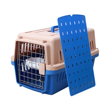 Double Plastic Designer Small Dog Cages Crates Dog Kennels