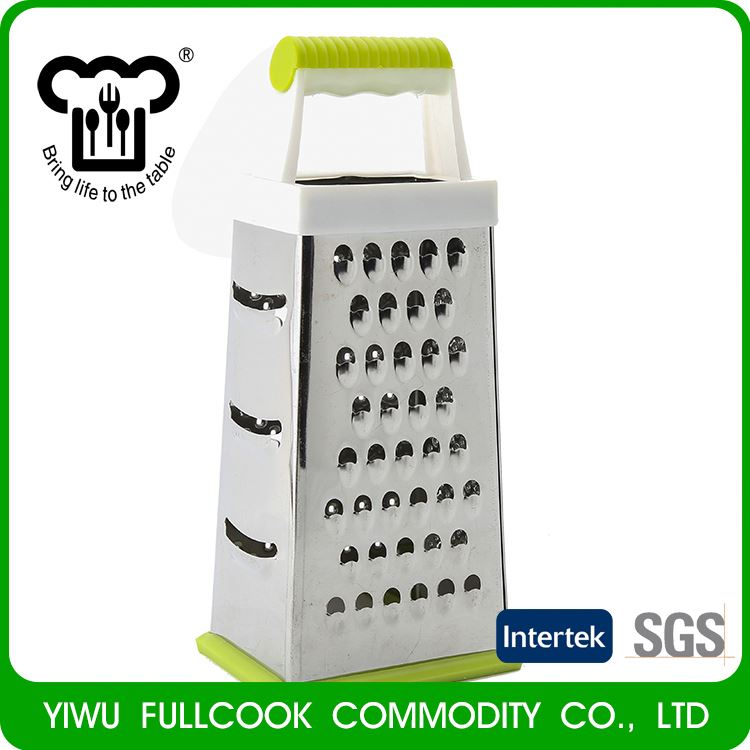 Most popular OEM quality China sale 4 sides stainless steel spiral vegetable grater