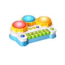 Baby Musical Toys Drums Piano Toys Keyboard Toddler Musical Instrument,Learning and Development Baby toys 6 to 12 months Toddler