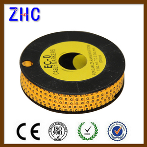 EC series clip type electrical wire cable marker
