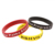 Silicon Wrist Band / Embossed Silicone Rubber Bands/white Silicone Wristband