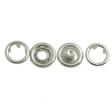 bulk stainless steel snap fastener for clothing