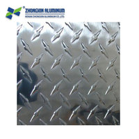 5052 5005 chequered diamond aluminum sheet