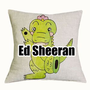 Ed Sheeran/Freddie Mercury/Prince Cushion Covers Pillows 45*45cm/17.7*17.7'' 1 PCS/Lot
