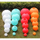 colored round paper lanterns wholesale/wedding round paper lanterns decoration