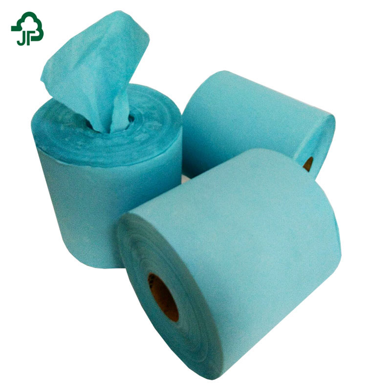 Cheap Wholesale Center Pull Blue Hand Roll Towels Paper