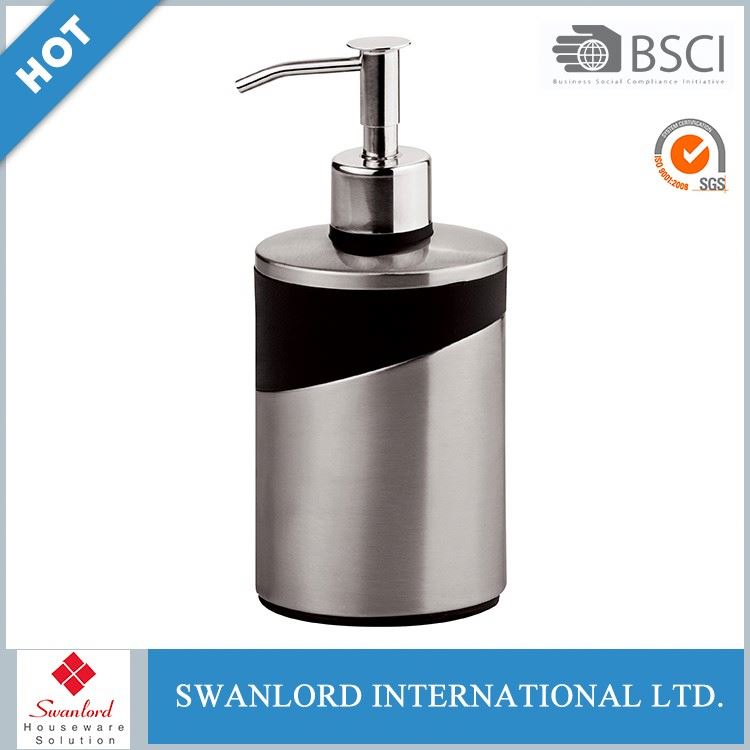 Global design standing stainless steel liquid soap dispenser