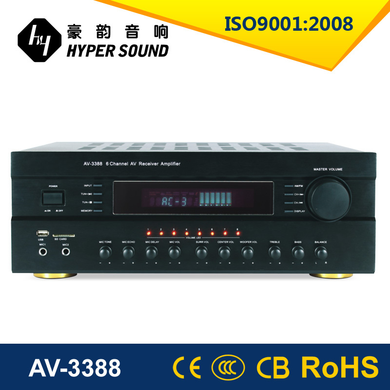 2015 New product 5.1 harga power amplifier with USB/AM/FM