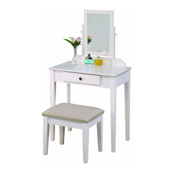 Cheap Modern Vintage Girls Women White Small Corner Desk Wood Bedroom  Furniture Beauty Makeup Vanity With Mirror Storage - Buy Oak Dresser  Table,Pine ...
