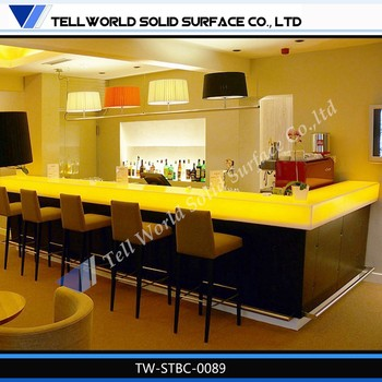 Modern home mini bar counter design for sale buy juice for Quick home bar design ideas