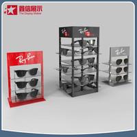 Factory bespoke acrylic sunglasses display stand, sunglasses display rack/ eyewear display sunglasses stand