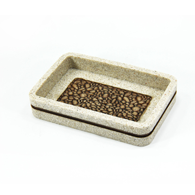 Cheap Natural Sandstone Classic Vintage Bathroom Accessories Sets Made in China