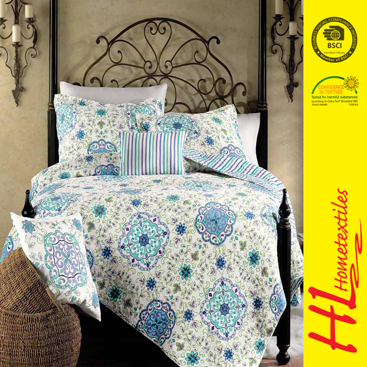 NBHS Competitive price digital printed cheap comforter