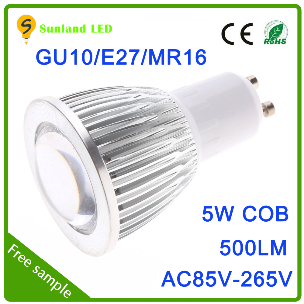 Narrow Beam Angle 45/65 Degree Cheap Price GU10 Spotlights Cob 5w LED Lamp Housing for Indoor