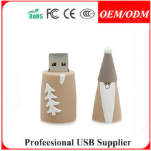pvc safe helmet usb flash disk , cat hand pvc custom made usb memory sticks