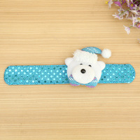 High Quality wrist strap soft toy stuffed toys and plush toys for christmas