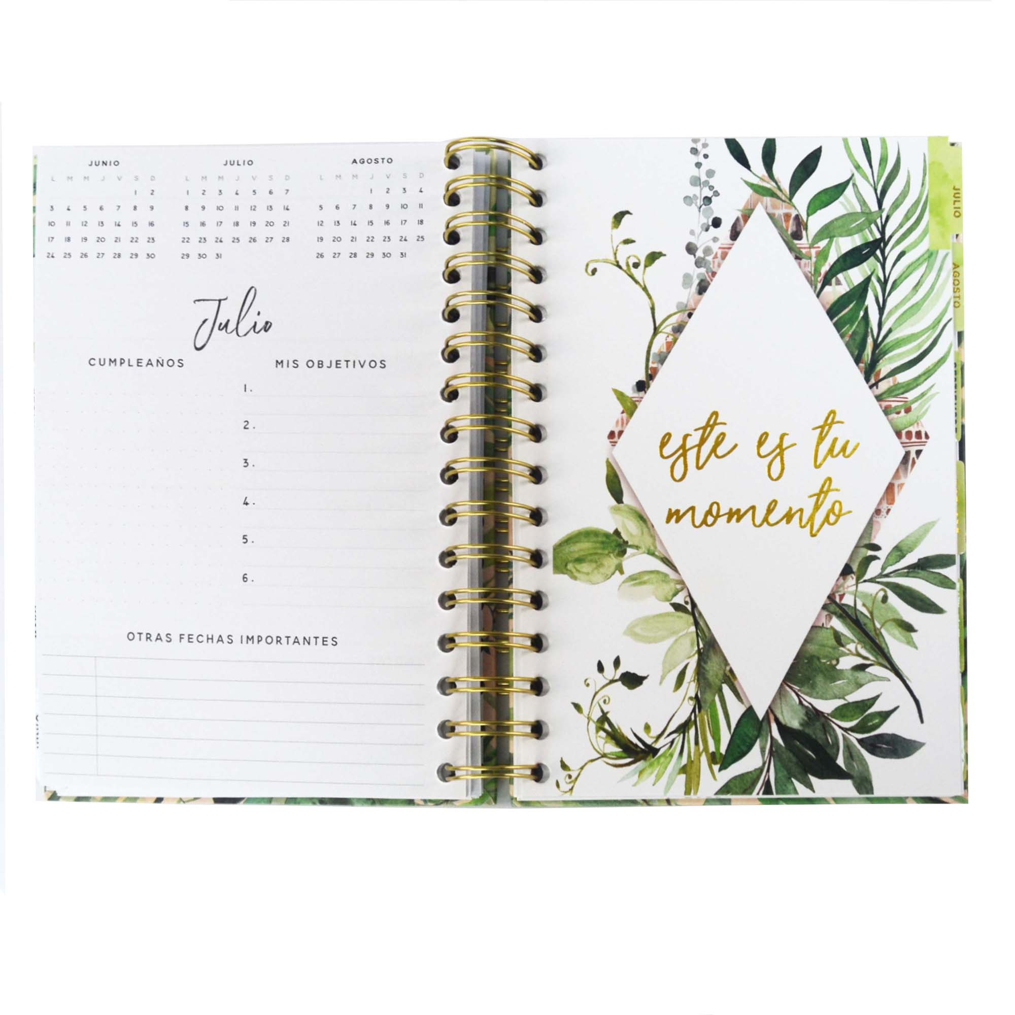 Hard cover draht O bindung spirale nach druck journal diaries notebook agenda planer
