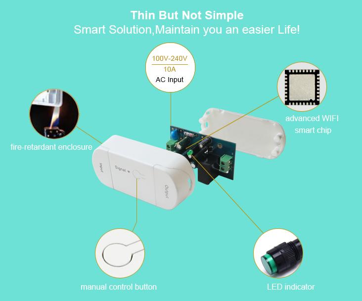 Remote control smart home wifi electrical switch 1Year warranty ...