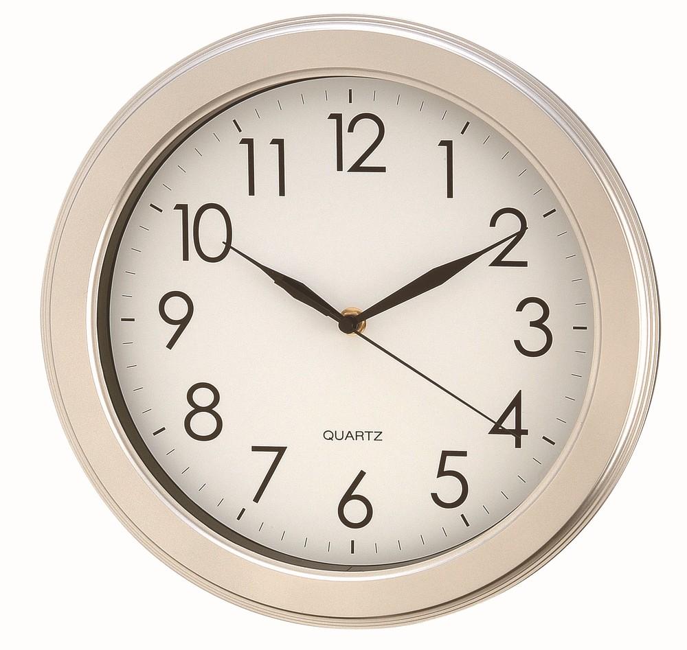 Home Goods Clocks: Sweep Round Quartz Wall Clock