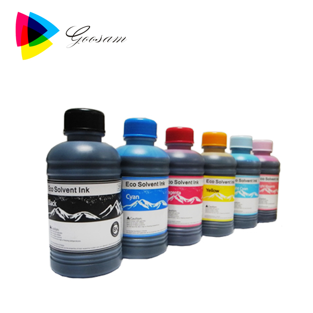 Popular water-based Ink eco solvent ink for epson L1800 with DX5 printhead