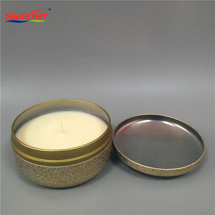 Best west home decor colored candle tins large outdoor candles