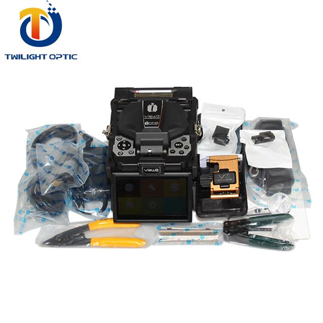 Double V-groove Fiber Optic Equipments Fiber Optic Fusion Splicer Gt90--