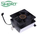CPU Cooler Heatsink Radiator Processor Cooling Fan 30mm 7 Blades 8cm Ventilador