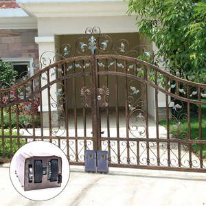 Europeanism courtyard safety wrought price front garden door iron