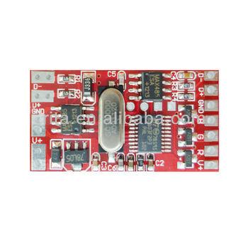 Dm-103;3 Channel Rgb Dmx Constant Voltage Decoder,Dc12-24v Input,Max ...