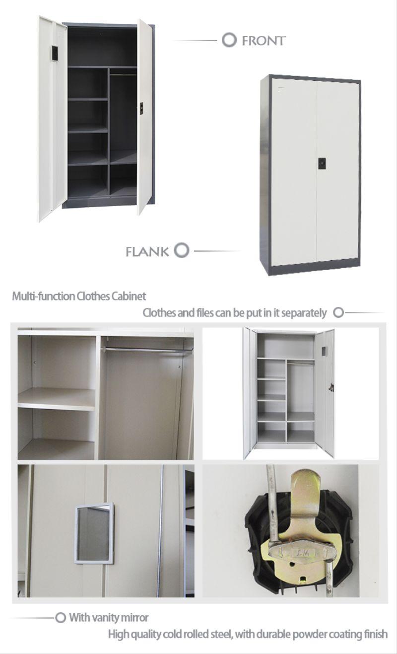 Modern dress advantages - Bedroom Furniture Stainless Steel Dress Cabinet