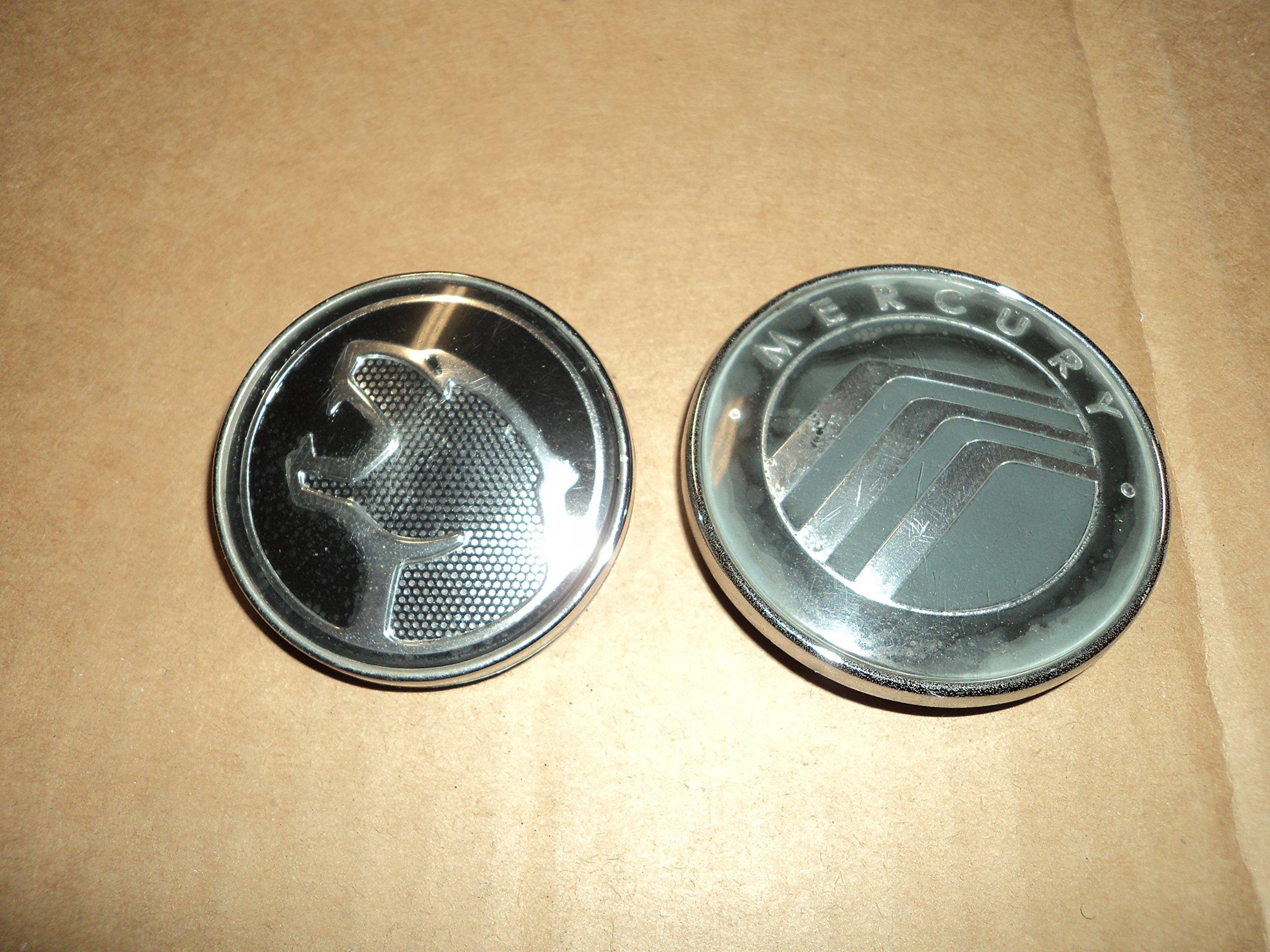 72457bbb4a6 Get Quotations · 99 00 Mercury Cougar Grille Tailgate Roundel Emblem  98BG-CA2528-AD Ornament Logo Symbol