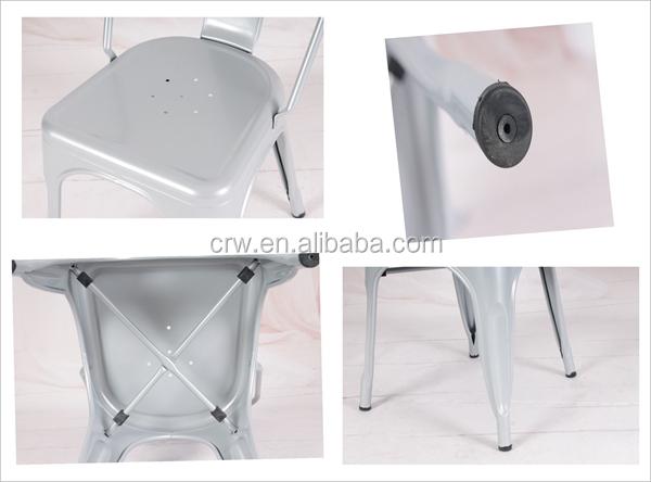 Sedie Di Metallo Vintage : Bizzotto balzac sedia in metallo ed ecopelle marrone