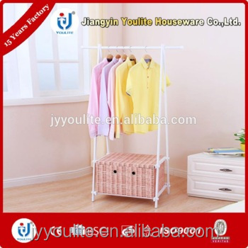 fixed double pet clothes rack