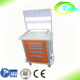 Hospital furniture type and hopital trolley equipment medical abs anesthesia trolley cart for sale
