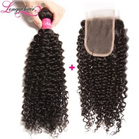 "Retail 16"" 18"" 20"" 22"" 24""wavy Chinese Hair Weft Weave 100% Human Hair Natural Color"
