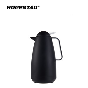 2018 new invention plastic thermos tea glass refill vacuum flask for home