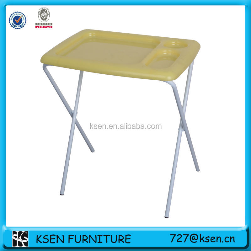 Marvelous Plastic Folding Tray Table KC T322