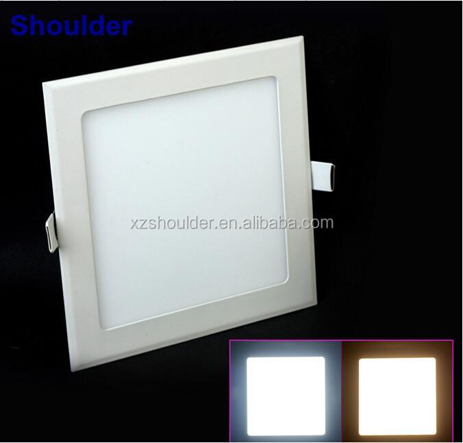 Ac85-265v Square Led Panel Light Warm/cold White Ceiling Lights ...