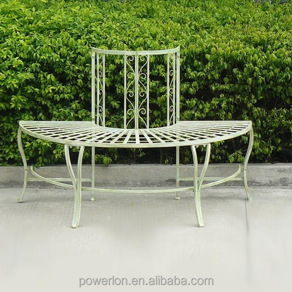 Round Garden Seat #6: Round Garden Wrought Iron Tree Seat, Round Garden Wrought Iron Tree Seat  Suppliers And Manufacturers At Alibaba.com