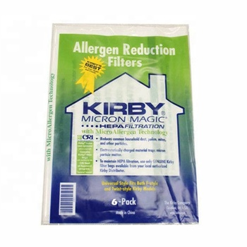 Non-woven dust bag for kirby 204811 (6 pack) vacuum cleaner filter bag