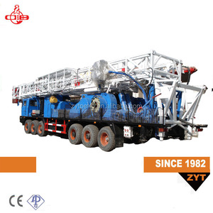 henan zj20 650hp well services pulling unit imported engines