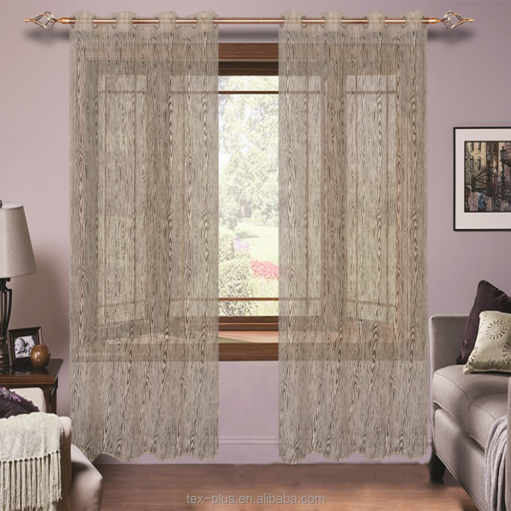 China Factory Wholesale Embroidered Sheer Curtain,Polyester Sheer Curtain For Bedroom,Jacquard Sheer Curtain For Window