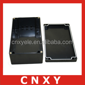 New plastic waterproof junction box/custom black enclosures / ABS enclosure box IP 65