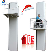 3m Customized wheelchair lift outdoor indoor chair stair lift for disabled people