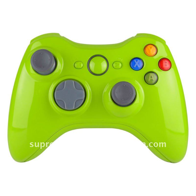 For Xbox 360 Repair Parts Replacement Apple Green With Screw Kit ...
