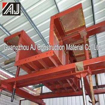 Foam slab formwork pillar formwork panel system formwork for Foam form concrete construction