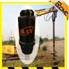 Excavator Hydraulic auger drill earth drilling machine for digging hole